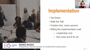 Part 2: Get a Grip, Get Traction: EOS Self-Implementation - Get Traction with Renee Russo